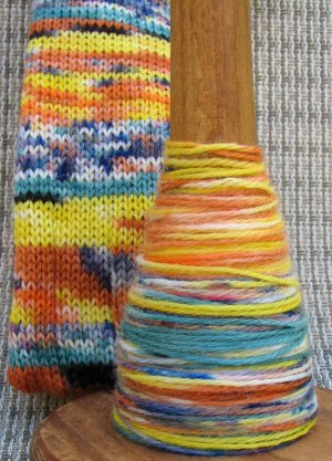 Candy Corn Sock Yarn