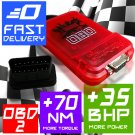 Performance Chip Tuning Box OBD 2 Petrol Engine LAND ROVER, FORD, MERCEDES