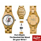 Baltimore Orioles, Map,e Wood Watch