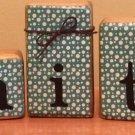 """Faith"" - 5 Piece block set"