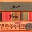 Love - 5 Piece Block Set
