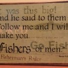 Fishers of Men Matthew 4:19 **Clearance**