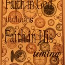 Faith in His Timing  **Clearance**