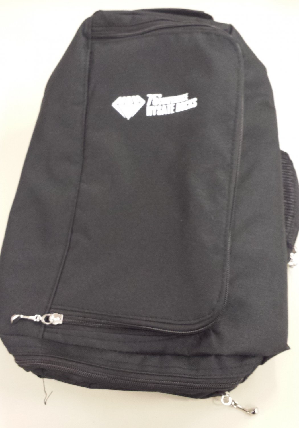 Travel shoe bag with NYSATE logo