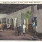 "Vintage Postcard Post Card An Outdoor ""Set"" built in-doors, Christie Studios, Hollywood California"