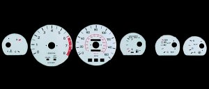 6-Color Glow Gauges