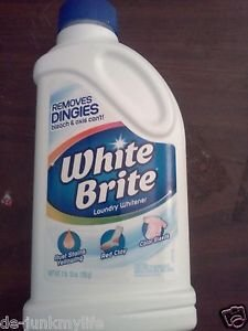 Summit Brands White Brite l lb and 12 oz. Laundry Whitener