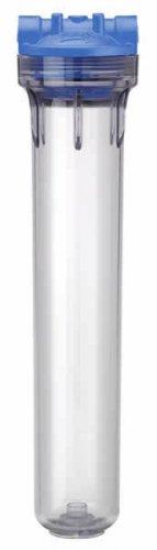"New Pentek Clear Housing Filter 3G Standard 20"" with 3/4"" Ports & PR 150560"