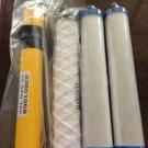 New Hydrotech Original Reverse Osmosis 25 GPD Membranes Set Filters Cartridges