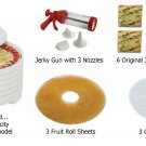 New Nesco Gardenmaster Food Dehydrator,FD-1040 1000-watt,6 Tray Value Pack