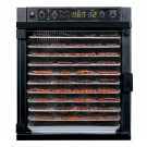 New Tribest Sedona Express Digital Food Dehydrator With Stainless Steel Trays SDE-S6780-B, Black
