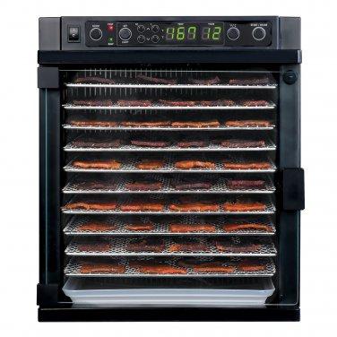New Tribest Sedona Express Digital Food Dehydrator With Stainless Steel Trays SDE-S6780-B, Black