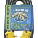 New Camco 55191 25' PowerGrip Electrical Power Cord with Handle