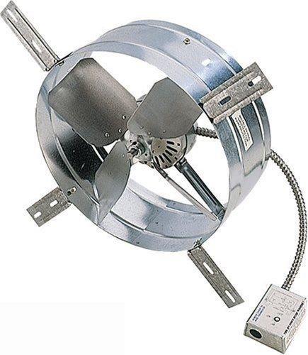 Cool Attic CX1500 Power Gable Ventilator Fan,14 inch fan with 600 square inch