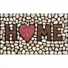 "New Apache Mills 60-779-1029 Masterpiece Home Stones Doormat 18"" by 30"""
