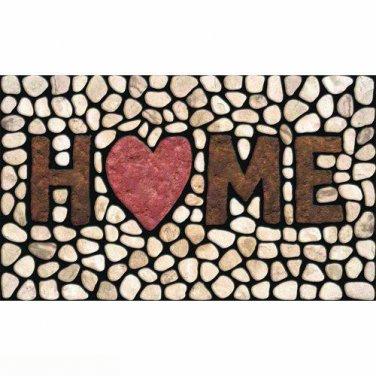 """New Apache Mills 60-779-1029 Masterpiece Home Stones Doormat 18"""" by 30"""""""