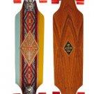 """New Arbor Zeppelin Premium Koa Complete Longboard 33"""" Long ZE325C"""