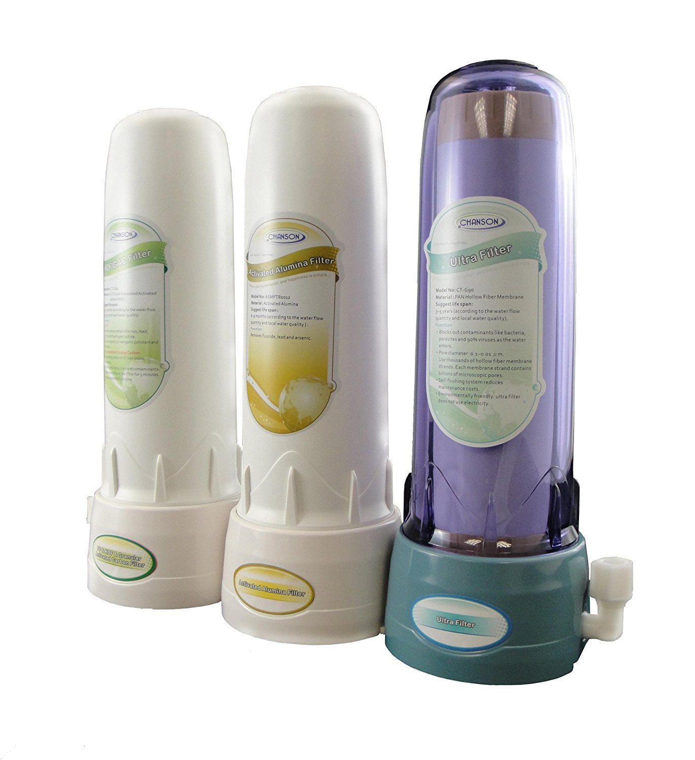 C3 City Water Filtration System for Counter-Top Ionizers