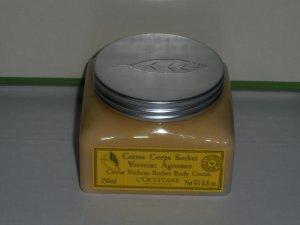 L'Occitane creme corps sorbet 8.8 oz