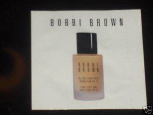 Bobbi Brown Oil free Foundation Warm Natural Sample
