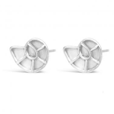Nautilus Stud Earrings