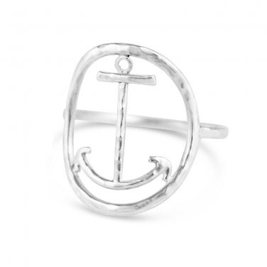 Anchor Ring - Size 6.5