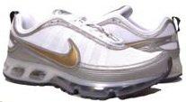 Men's Nike Air Max 360 II- White & Gold