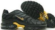 Men's Nike Air Max TN Plus- Black & Yellow
