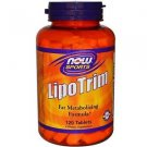 LIPO TRIM  120 TABS By Now Foods