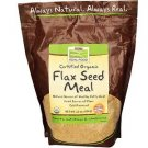 FLAX SEED MEAL ORG 22 OZ By Now Foods