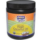 ORGANIC COCONUT OIL VIRGIN 20 OZ By Now Foods