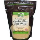 GOLDEN FLAX MEAL ORG 22 OZ By Now Foods
