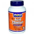 ACID COMFORT *** 90 LOZENGES By Now Foods