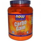 CARBO GAIN  2 LB By Now Foods