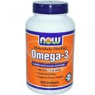 OMEGA-3 1000mg 200 SGELS By Now Foods