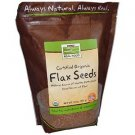FLAX SEEDS ORGANIC  2 LB By Now Foods