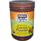 COCOA POWDER PURE ORGANIC 12 OZ By Now Foods