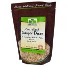 GINGER DICES- NO SULFUR  1LB By Now Foods
