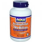 ACIDOPHILUS 2 BILLION  250 CAPS By Now Foods