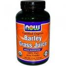 BARLEY GRASS JUICE POWDER ORG 4 OZ By Now Foods