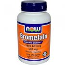 BROMELAIN 500MG/2400GDU 120 VCAPS By Now Foods