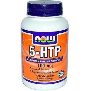 5-HTP 100mg 120 VCAPS By Now Foods