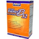B-12 INSTANT ENERGY PACKETS 75/BOX By Now Foods