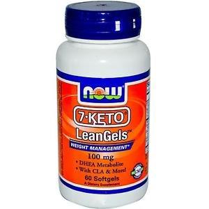 7-KETO 100MG LEANGELS   60 SGELS By Now Foods