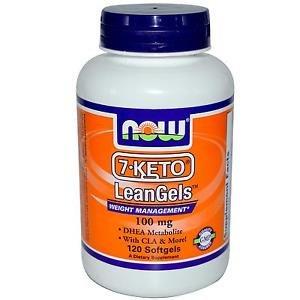 7-KETO 100MG LEANGELS   120 SGELS By Now Foods