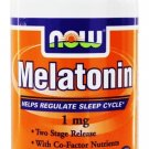 MELATONIN 1mg TR COMPLEX  100 TABS By Now Foods