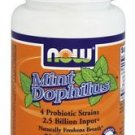 MINTDOPHILUS  60 LOZ By Now Foods