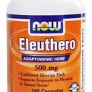 ELEUTHERO 500mg  100 CAPS By Now Foods