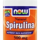SPIRULINA 500mg  100 TABS By Now Foods