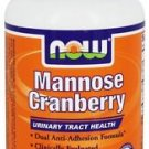 MANNOSE CRANBERRY  90 VCAPS By Now Foods